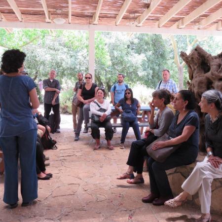 סיור לימודי התכנית לפולקלור: קהילות רוחניות בישראל עקרונות וחיי יום יום 2015